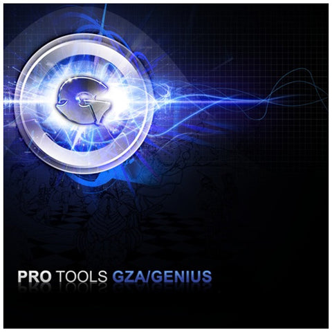 "GZA/Genius (of Wu-Tang Clan) ""Pro Tools"" (Blue Vinyl 2XLP)"