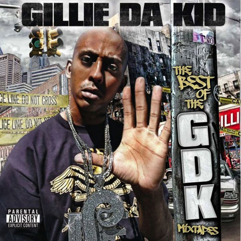 "Gillie Da Kid ""The Best of the GDK Mixtapes"" (Audio CD)"
