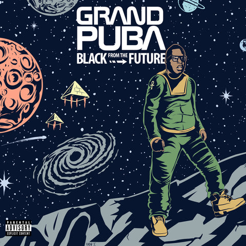 "Grand Puba (of Brand Nubian) ""Black from the Future"" (Vinyl LP)"