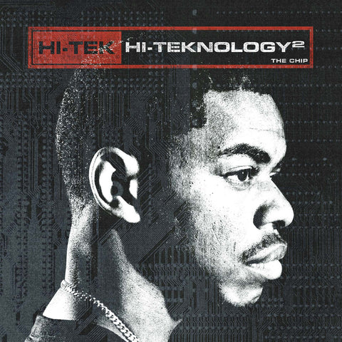 "Hi-Tek ""Hi-Teknology Vol. 2"" (Red Vinyl 2XLP)"