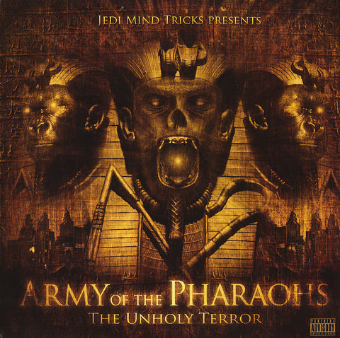 "Jedi Mind Tricks Presents: Army of the Pharaohs ""The Unholy Terror"" (Orange Vinyl 2XLP)"