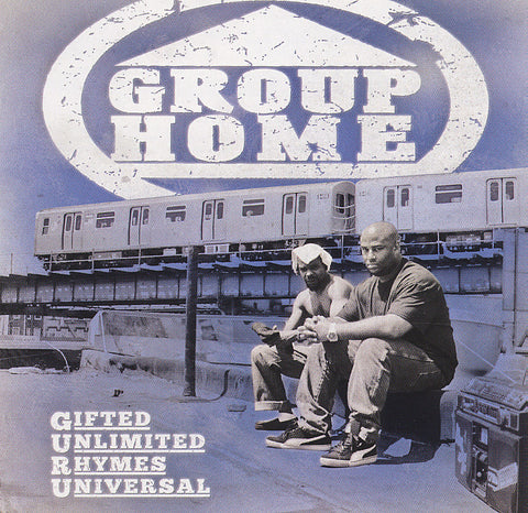 "Group Home (Lil Dap + Melachi the Nutcracker) ""Gifted Unlimited Rhymes Universal"" (Vinyl 2XLP)"