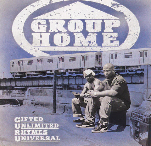 "Group Home (Lil Dap + Melachi the Nutcracker) ""Gifted Unlimited Rhymes Universal"" (Audio CD)"