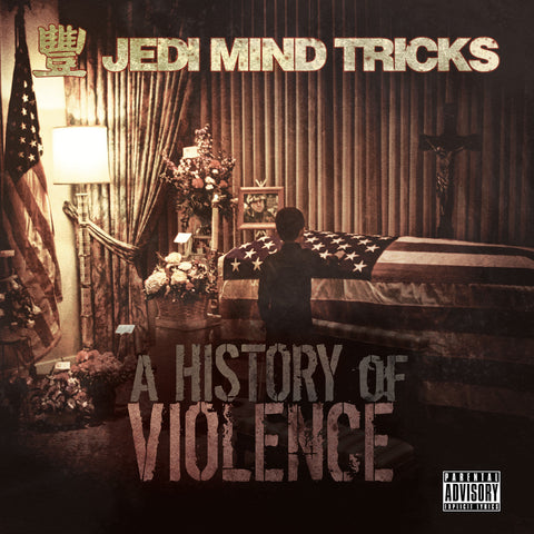 "Jedi Mind Tricks (Vinnie Paz + Stoupe + Jus Allah) ""A History of Violence"" (Audio CD)"