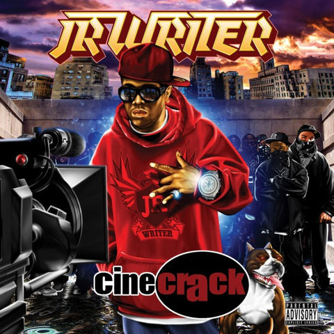 "JR Writer ""Cinecrack"" (Vinyl 2XLP)"