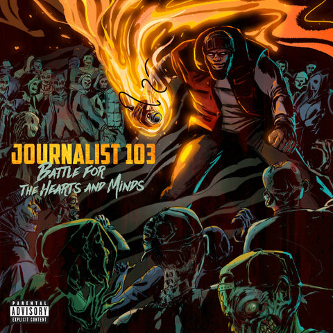 "Journalist 103 ""Battle for the Hearts and Minds"" (Vinyl LP)"