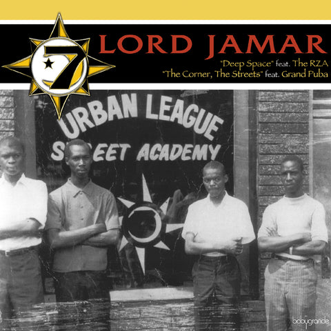 "Lord Jamar (of Brand Nubian) ""Deep Space / The Corner, The Streets (feat. RZA of Wu-Tang Clan & Grand Puba of Brand Nubian) (Vinyl 12"")"