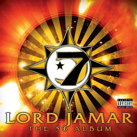 "Lord Jamar (of Brand Nubian) ""5%"" (Audio CD + 90 Page Booklet)"