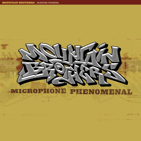 "Mountain Brothers ""Microphone Phenomenal"" (Audio CD)"