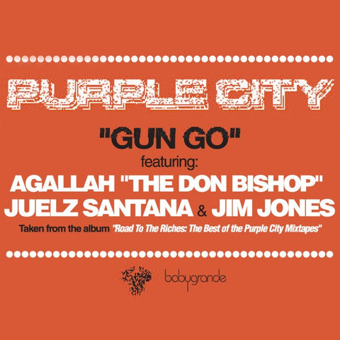 "Purple City ""Gun Go"" (feat. Juelz Santana, Jim Jones & Un Kasa)  (Vinyl 12"")"