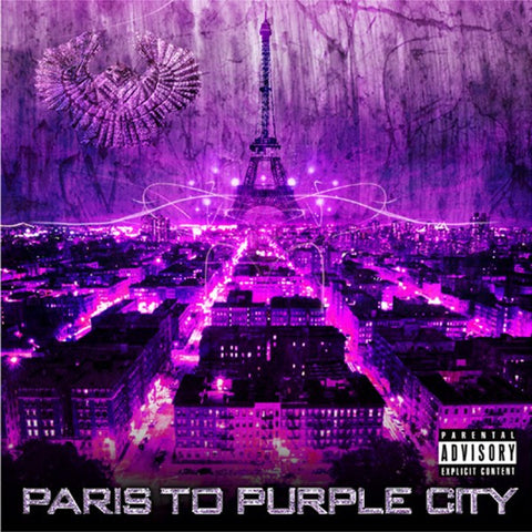 "Purple City ""Paris to Purple CIty"" (Vinyl LP)"