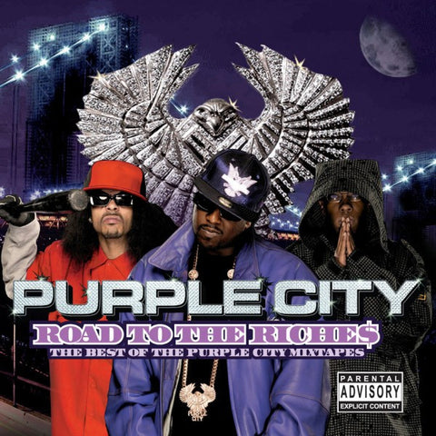 "Purple City ""Road to the Riche$: The Best of the Purple City Mixtapes"" (Audio CD)"