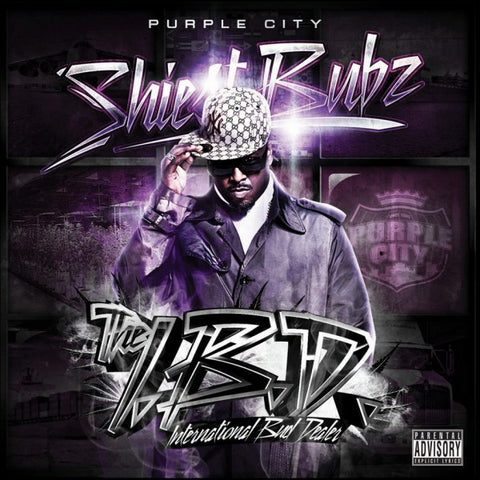 "Purple City ""Shiest Bubz: The International Bud Dealer"" (Vinyl 2XLP)"