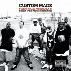 "Custom Made ""Sidewalk Mindtalk - the Best of Custom Made Mixtapes"" (Vinyl 2XLP)"