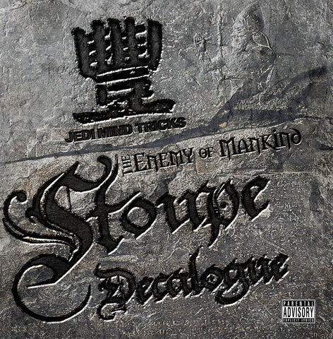 "Jedi Mind Tricks Presents: Stoupe ""Decalogue"" (Vinyl LP)"