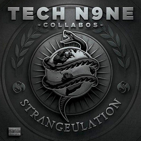 "Tech N9ne ""Tech N9ne Collabos: Strangeulation (Deluxe Edition)"" (Audio CD)"