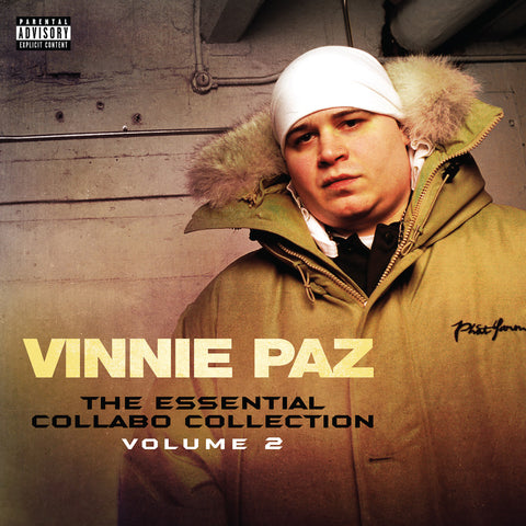 "Vinnie Paz (of Jedi Mind Tricks) ""The Essential Collabo Collection Volume 2"" (Vinyl LP)"
