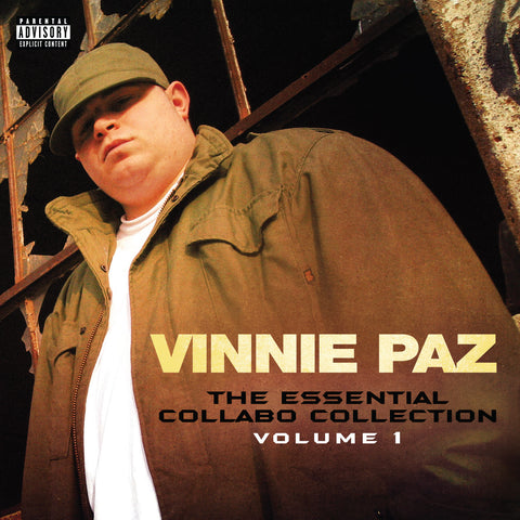 "Vinnie Paz (of Jedi Mind Tricks) ""The Essential Collabo Collection Volume 1"" (Audio CD)"