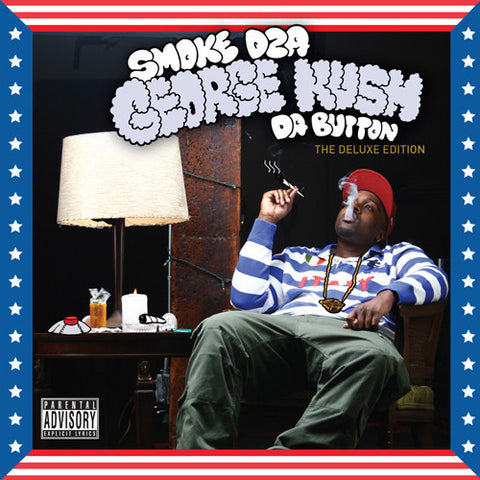 "Smoke DZA ""George Kush Da Button"" (Deluxe Edition) (Vinyl 2XLP)"