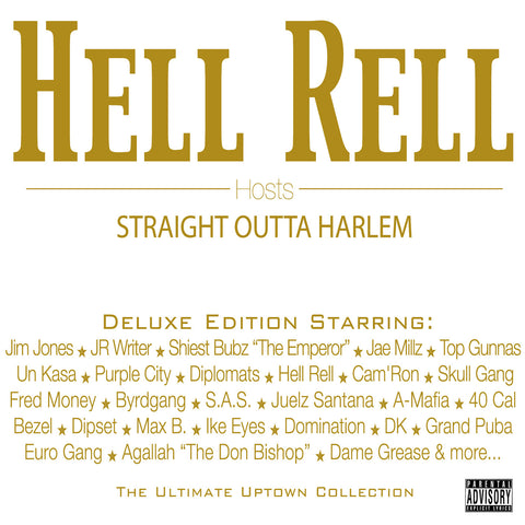 "Hell Rell Hosts ""Straight Outta Harlem"" (Vinyl 4XLP)"