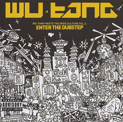 "Wu-Tang ""Wu-Tang Meets the Indie Culture, Vol. 2: Enter the Dubstep"" (Vinyl 2XLP)"