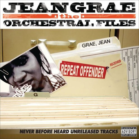 "Jean Grae ""The Orchestral Files"" (Vinyl 2XLP)"