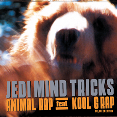 "Jedi Mind Tricks (Vinnie Paz + Stoupe)  - ""Animal Rap (Deluxe EP Edition)"" (Orange Vinyl 2XLP)"