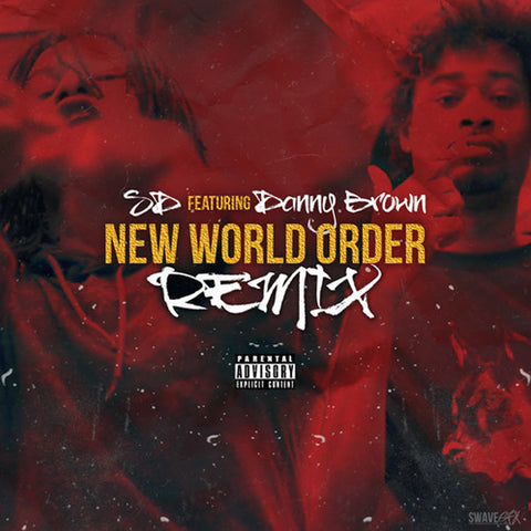 "SD ""New World Order (Remix)"" (feat. Danny Brown) (Vinyl 12"")"