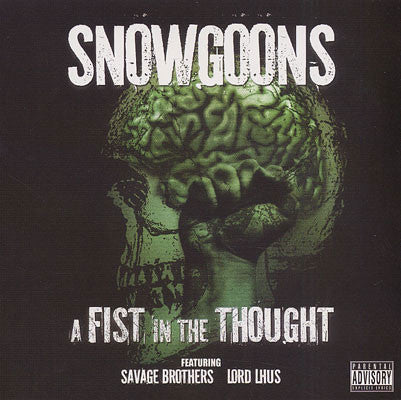 "Snowgoons ""A Fist In The Thought"" (Audio CD)"