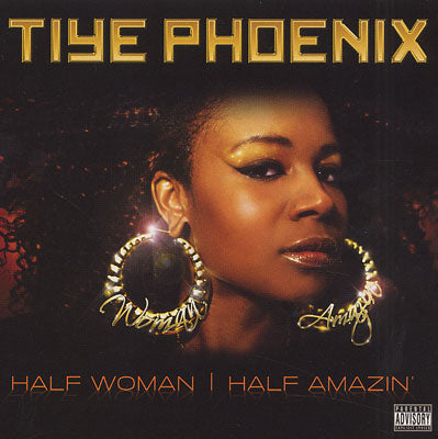 "Tiye Phoenix (of Polyrhythm Addicts) ""Half Woman, Half Amazin"" (Vinyl 2XLP)"
