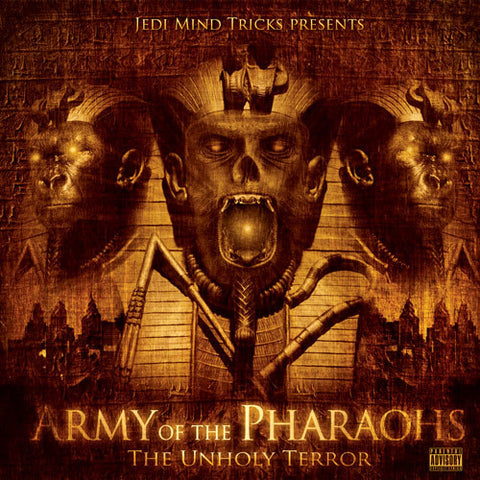 "Jedi Mind Tricks Presents: Army of the Pharaohs ""The Unholy Terror"" (Audio CD)"
