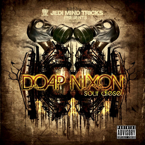 "Jedi Mind Tricks Presents: Doap Nixon ""Sour Diesel"" (Vinyl 2XLP)"