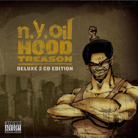 "NYOIL ""Hood Treason (Deluxe Edition)"" (Audio 2XCD)"