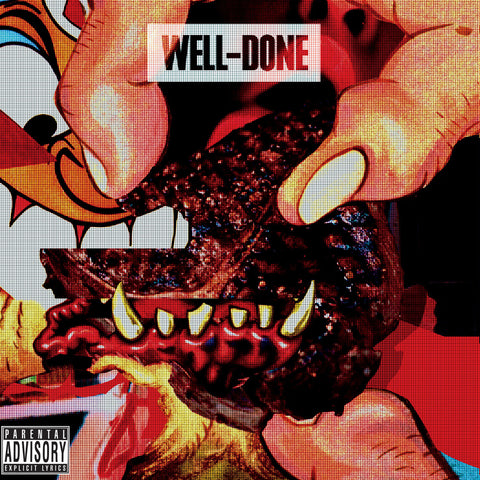 "Action Bronson & Statik Selektah ""Well Done"" (Red Vinyl 2XLP)"