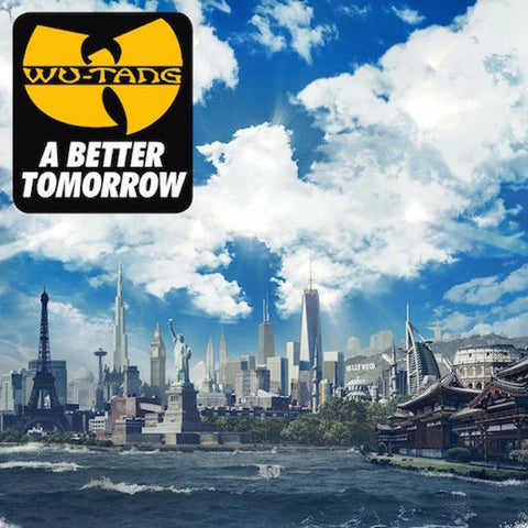 "Wu-Tang Clan ""A Better Tomorrow"" (Audio CD)"