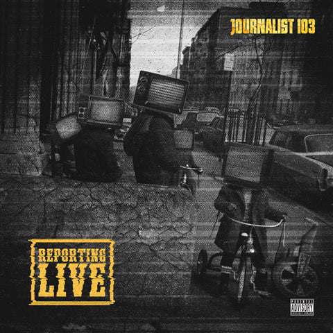 "Journalist 103 ""Reporting Live"" (Dark Yellow Vinyl LP)"