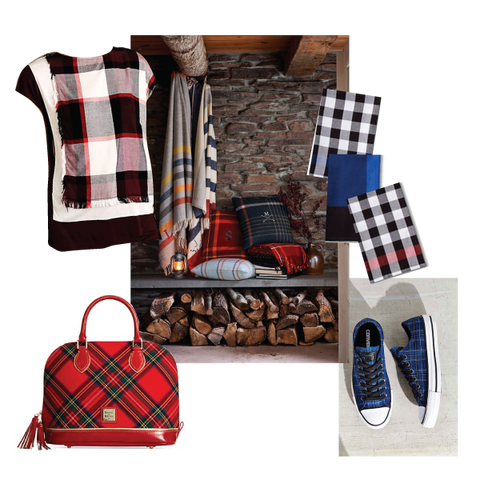 fall plaid trends