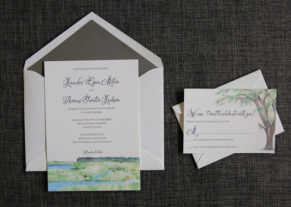 charleston invitation