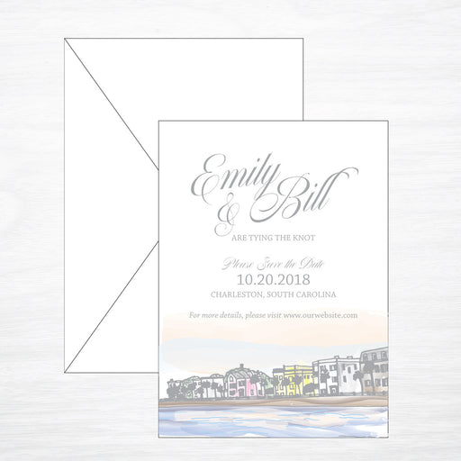 Battery | Wedding Save the Date