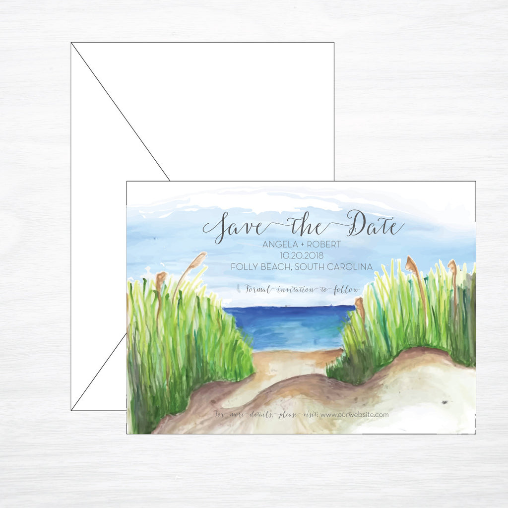 Beach | Wedding Save the Date