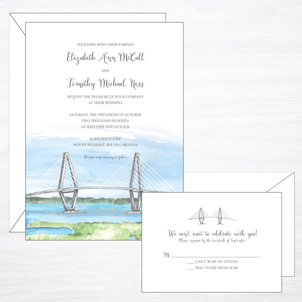 Bridge | Wedding Invitation Suite