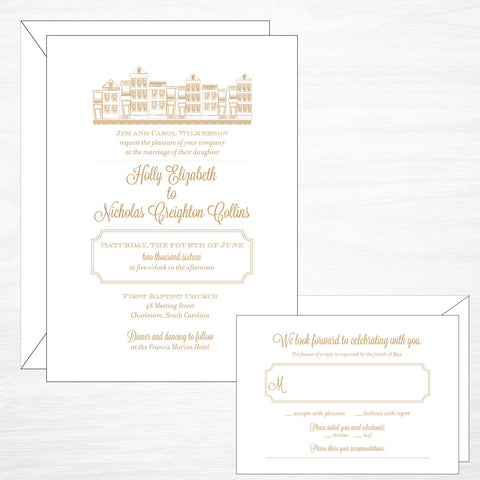 Charleston | Wedding Invitation Suite