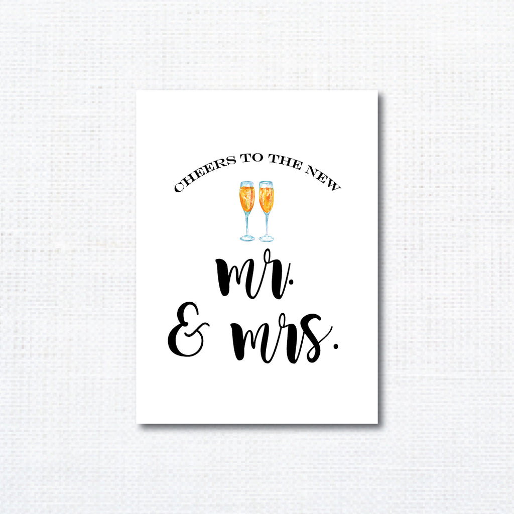 Cheers | Mr. & Mrs.