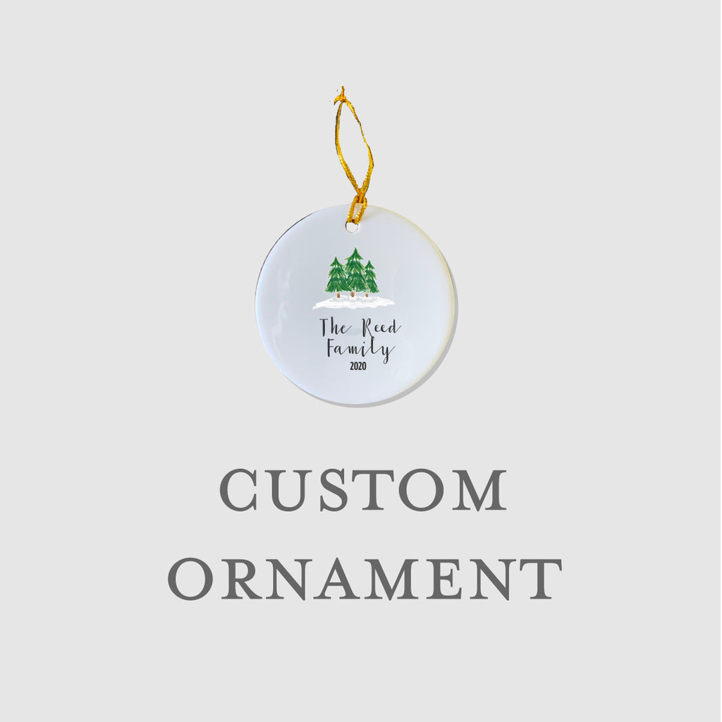 Holiday Trees Ornament