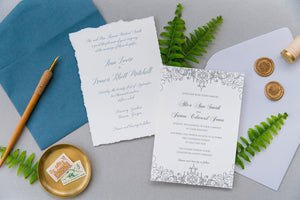Scrollwork | Wedding Invitation Suite
