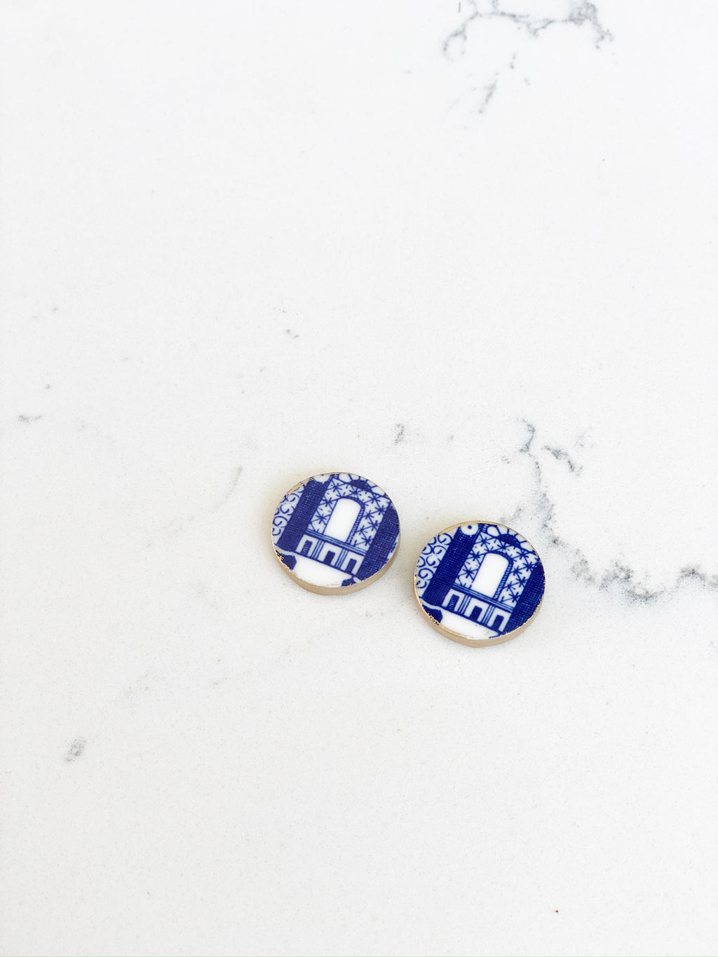 Earrings + Personalized Stationery {2}