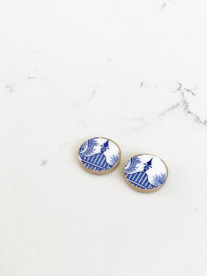 Earrings + Personalized Stationery {3}