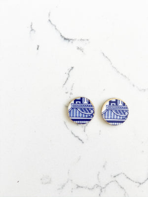 Earrings + Personalized Stationery {5}