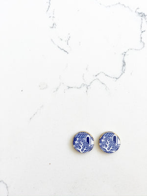 Earrings + Personalized Stationery {9}