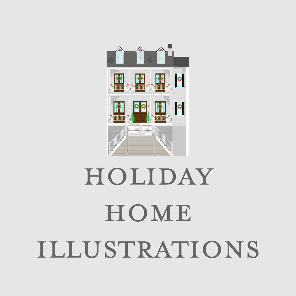 Holiday Home Illustration